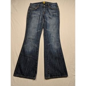 7 for all mankind jeans size 29 blue jeans